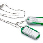 Dog Tag  Army Chew Pendant-0