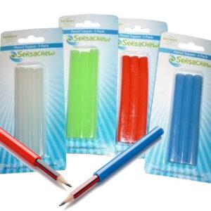 Sensa Chew Pencil Toppers 3 pk-0