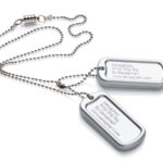 Dog Tag  Army Chew Pendant-5723