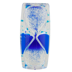 upward oil/sand timer BLUE-0