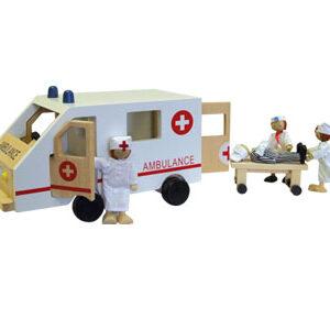 Wooden Ambulance-0