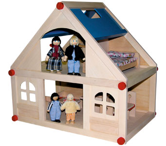 Mini Dolls House-0