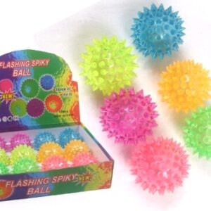 SPIKEY LIGHT UP BALL-0