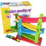 Minature speeding car-0