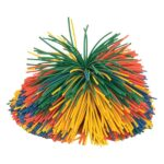 Rainbow Pom Pom Ball – Large – 115mm diameter-0