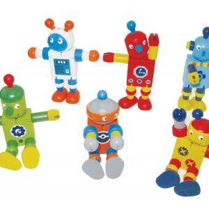Wooden Flexi robot-0