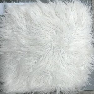 Faux Fur cushion 4.5kg weight-0