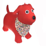 Bouncy Red Dog