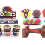 2 toned bouncing putty