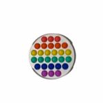 Solid Rainbow Pop It 2